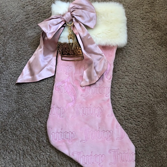 Like New Juicy Couture Christmas Stocking